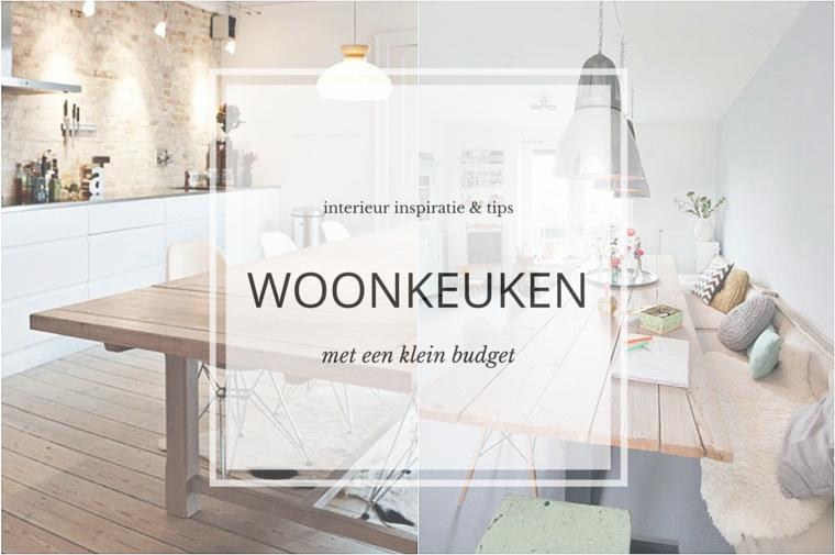 Een woonkeuken met een klein budget interieur inspiratie for Interieur inspiratie blog