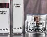 hannah glycolic gel 6%, vitamin complex & cell recovery cream