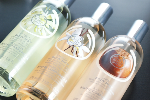 The Body Shop | Body Mist Moringa, Vanilla & Shea